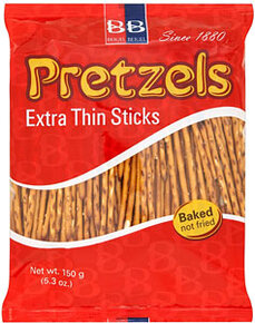Extra Thin Pretzel Sticks - Beigel Beigel