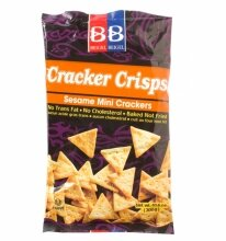 Mini Sesame Cracker Crisps - Beigel Beigel