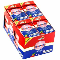 Sugar Free Tutti Fruitti Bazooka Chewing Gum - Elite