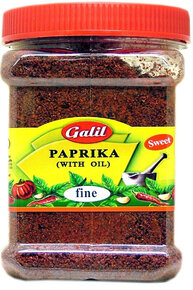 Fine Sweet Paprika With Oil - Galil