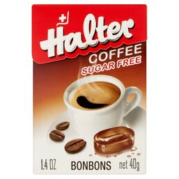 Sugar Free Coffee Flavored Candy - Halter