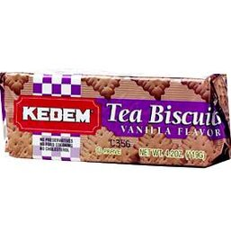 Vanilla Flavored Tea Biscuits - Kedem