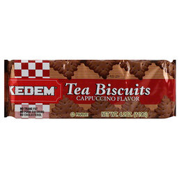 Cappuccino Flavored Tea Biscuits- Kedem