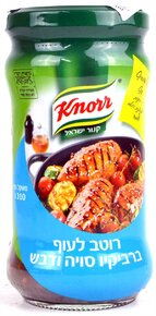 Knorr- Cooking Sauce with Honey and Soy Sauce