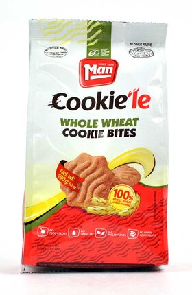 Man- Whole Wheat Flavored Cookie Bites
