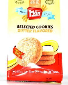 Butter Flavored Cookies - Man