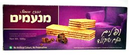 Chocolate Flavored Wafers - Manamim 500gr