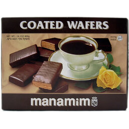 Chocolate Covered Wafers - Manamim
