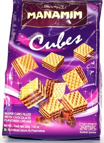 Chocolate Coated Wafers - Manamim