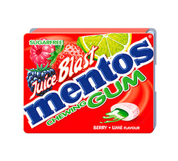 Strawberry Mentos Blast Gum