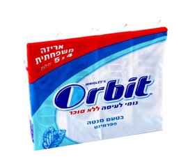 Peppermint Flavored Multi Pack Orbit Gum