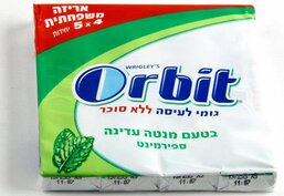 Spearmint Flavored Multi Pack Orbit Gum