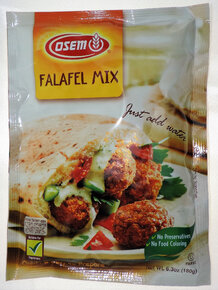 Osem - Falafel Mix Envelope, 6.3-Ounce Packages