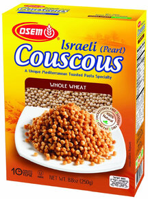 Osem - Israel (Pearl) Couscous Whole Wheat, 8.8-Ounce Boxes