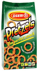 Perfect Sesame Pretzel Snack - Osem