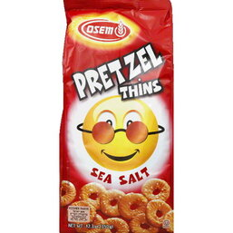 Sea Salt Flavored Pretzel Thins - Osem