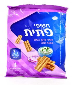 Patit- Sour Cream and Onion Flavored Cracker Snacks