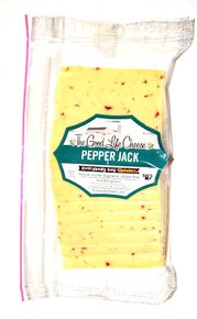 Pepper Jack Sliced Cheese