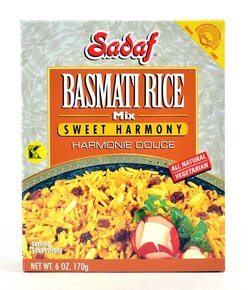 Sadaf- Basmati Rice Mix Sweet Harmony