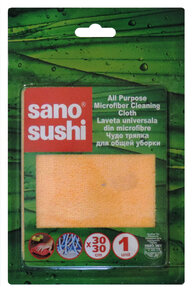 Sano Sushi - All Purpose Microfiber Cleaning Cloth