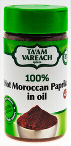 Ta'am Vareach - Hot Paprika with Oil.