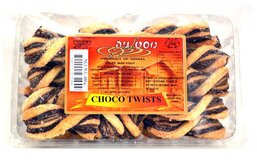Chocolate Twists - Tvuotbar