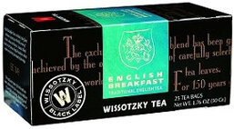 Wissotzky English Breakfast Tea - Box of 25 Bags