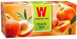 Wissotzky Peach Tea - Box of 25 Bags