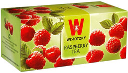 Wissotzky Raspberry Tea - Box of 25 bags