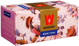 Wissotzky Rose Chai Tea - Box Of 25 Bags